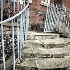 Stone steps detail - Tom Gowanlock