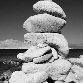 David Fowler - Stone tower on Halki island