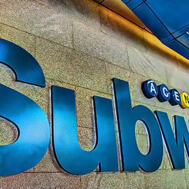 Allen Beatty - Subway Entrance