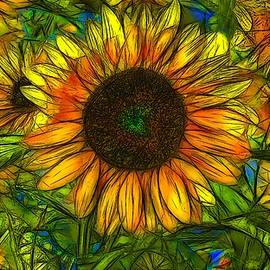 Jean-Marc Lacombe - Sunflowers