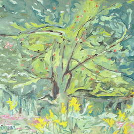 Francois Fournier - The Apple Tree In The Golden Rods