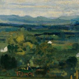 The Birth of the Green - Arthur Bowen Davies