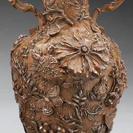 Dawn Senior-Trask - The Cedar Ridge - bronze vase