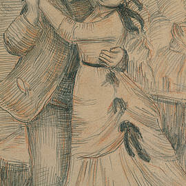 The Country Dance - Pierre Auguste Renoir