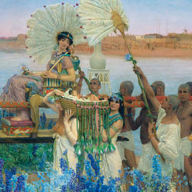 The Finding of Moses - Lawrence Alma-Tadema