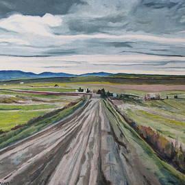 Francois Fournier - The Gravel Road LaPatrie Quebec Canada