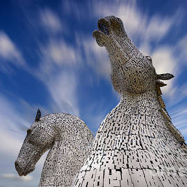 The Kelpies at Falkirk - Janet Burdon