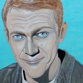 Ken Zabel - The king of cool.Steve McQueen.