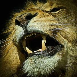 Ernie Echols - The Lion Digital Art