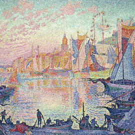 The Port of Saint-Tropez - Paul Signac