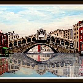 Irving Starr - Rialto Bridge