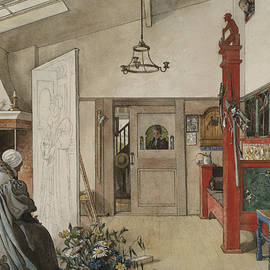 The Studio. From A Home - Carl Larsson