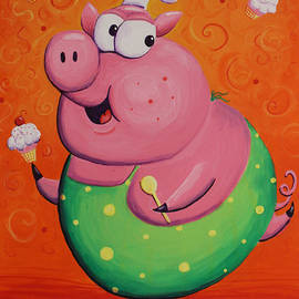 Jennifer Alvarez - This Little Piggy Baked Cupcakes