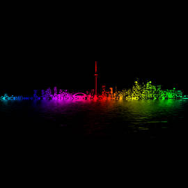 Brian Carson - Toronto Rainbow Reflection