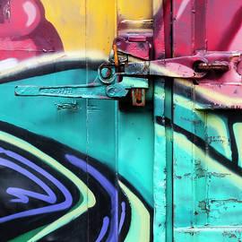Train Art Abstract - Carol Leigh