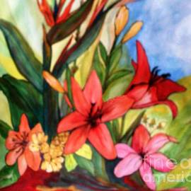 Jacquie King - Tropical Bouquet
