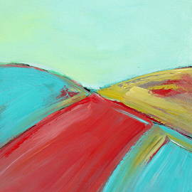 Brooke Baxter Howie - Turquoise Abstract