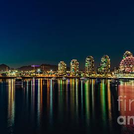 Viktor Birkus - Vancouver at night