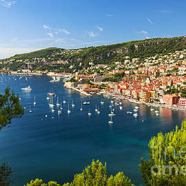 Elena Elisseeva - Villefranche-sur-Mer and Cap de Nice on French Riviera