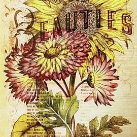 Tina LeCour - Vintage Sunflower Print