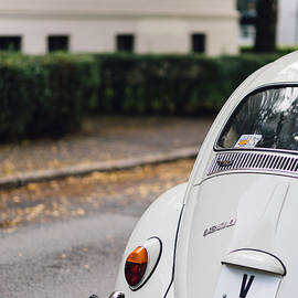 Aldona Pivoriene - Volkswagen Beetle retro car at the city street