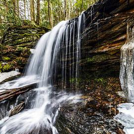 Thomas R Fletcher - Waterfall in Winter