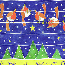 We Wish You A Merry Christmas - Cathy Baxter