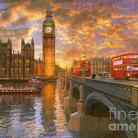 Westminster Sunset - Dominic Davison