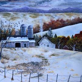 Brian Mickey - Winter Farm