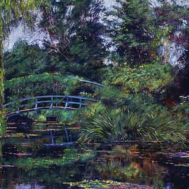 David Lloyd Glover - Wisteria Bridge Giverny
