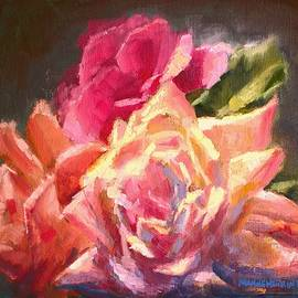 Melissa Herrin - Yellow And Pink Roses