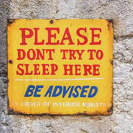 Pamela Williams - 10717  No Sleep Here