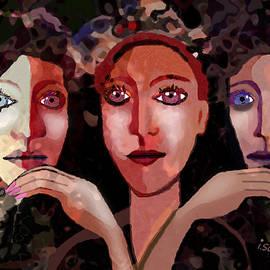 Irmgard Schoendorf Welch - 1256 - Ladies not very happy