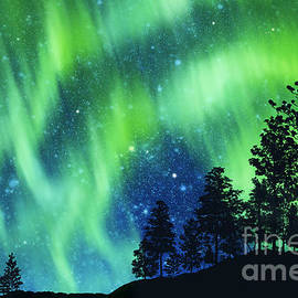 aurora borealis - Setsiri Silapasuwanchai