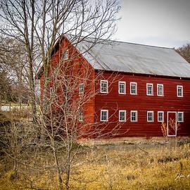 Jeffrey Henry - 18 Window Red Barn #3870