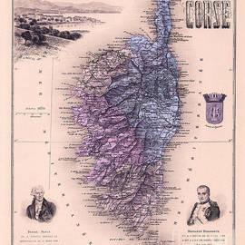 1821 Map of France - Jon Neidert