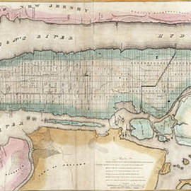 1852 New York City Map - Jon Neidert