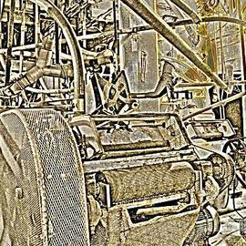 Natalie Ortiz - 1874 Hayden Flour Mill Abstract