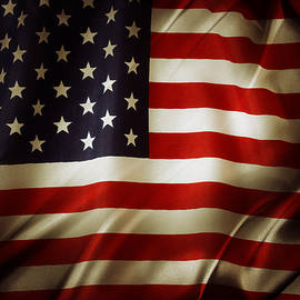 American flag  - Les Cunliffe