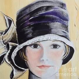 Barbara Chase - 1920s Bucket Hat