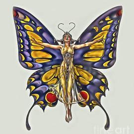 Walt Foegelle - 1922 Flapper Butterfly