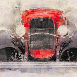Eduardo Tavares - 1932 Ford Roadster Red And Black