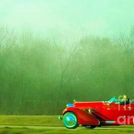 Janette Boyd - 1936 Auburn Speedster