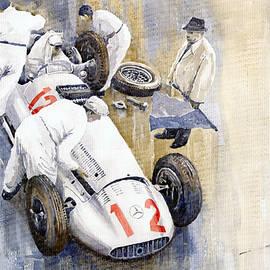 Yuriy  Shevchuk - 1939 German GP MB W154 Rudolf Caracciola winner