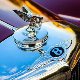 1953 Bentley R-Type Hood Ornament - Emblem -0271c - Jill Reger