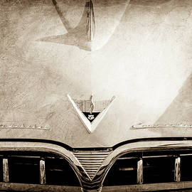 1953 Studebaker Emblem - Hood Ornament -0072s - Jill Reger