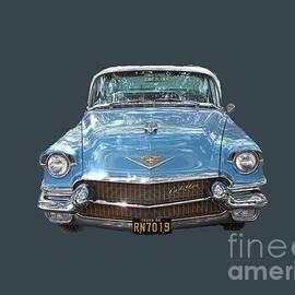 Linda Phelps - 1956 Cadillac Cutout