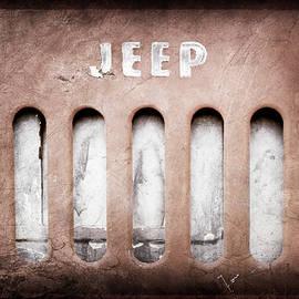 1957 Jeep Emblem -0597ac - Jill Reger