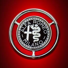 1959 Alfa Romeo Giulietta Sprint Emblem -0128c5 - Jill Reger