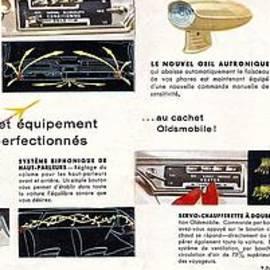 R Muirhead Art - 1959 Oldsmobile Prestige Brochure page 28 and 29